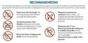 recommandations demoustication