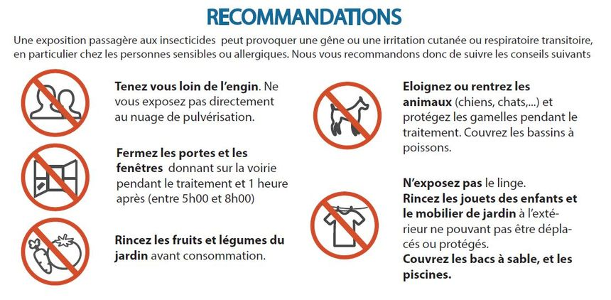 recommandations demoustication